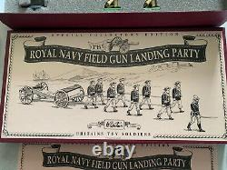 Britains 8898 The Royal Navy Field Gun Landing Party Special Collectors Edition