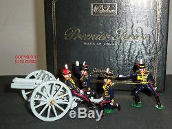 Britains 8927 British Royal Horse Artillery 13lb Gun + Review Order Detachment