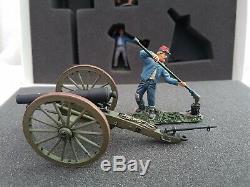 Britains ACW 31032 Confederate 10LB Parrot Gun + Crew Artillery Figure Set 2