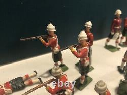 Britains A Highland Square. Pre & Post War Figures. 54mm Metal Models