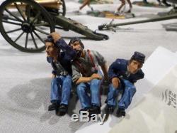 Britains BOXED US Civil War Blue Grey Gray 6 Horse Artillery Set 17379 Union