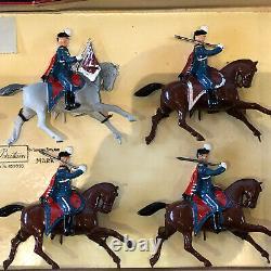 Britains Boxed Display Set 2018 Danish Guard Hussars. Post War c1954