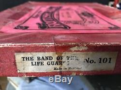 Britains Boxed Set 101 Mounted Band Of The Life Guards. RARE 1911 Version