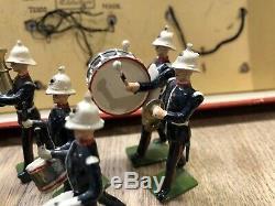Britains Boxed Set 1291 Band Of The Royal Marines. Post War
