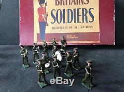 Britains Boxed Set 1301 US Army Band. Post War