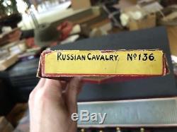 Britains Boxed Set 136 Russian Cavalry. Pre War