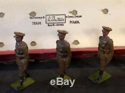 Britains Boxed Set 160 Territorial Infantry. Pre War