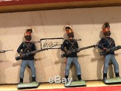 Britains Boxed Set 167 Turkish Infantry. Pre War