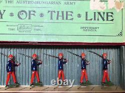 Britains Boxed Set 177 Austro-Hungarian Infantry. Pre War c1925
