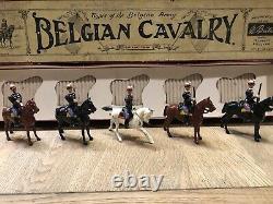 Britains Boxed Set 190 Belgian Cavalry. Pre War c1930. Uncommon