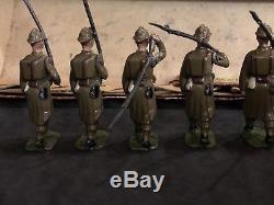 Britains Boxed Set 192, Infanterie DLigne, Active Service In Box. Pre War