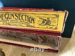 Britains Boxed Set 198 British Machine Gunners. Pre War c1920s