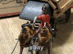 Britains Boxed Set 203 British Pontoon Wagon. Pre War, c1920s