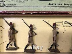 Britains Boxed Set 225 Kings African Rifles. Pre War c1930