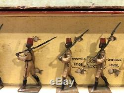 Britains Boxed Set 225 The Kings African Rifles. Pre War