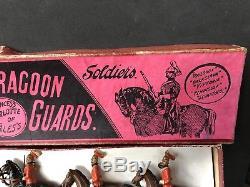 Britains Boxed Set 3 5th Dragoon Guards. RARE 1897 Version