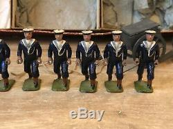 Britains Boxed Set 79 Royal Navy Landing Party. Pre War c1920s