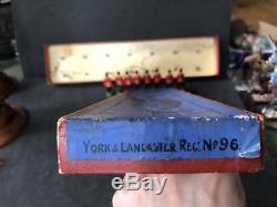Britains Boxed Set 96 York & Lancaster Regiment. Pre War. Uncommon