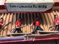 Britains Boxed Set 96 York & Lancaster Regt. Pre War c1930
