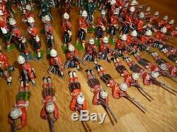 Britains Cameron Gordon Highlanders and Zulu set 89, 157, 147, 188 toy soldiers