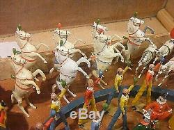 Britains Circus Charbens Band Circus Large Collection