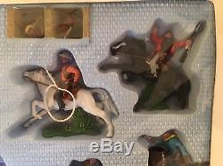 Britains Cowboy & indian Set 7630 In Very Good Condition