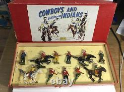 Britains Cowboys And North American Indians Within Its Original Box Set 208