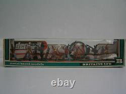 Britains Deetail 1st series boxed Wild West Indian set #7544