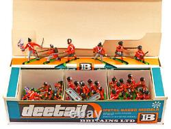 Britains Deetail # 7940 48 British Napoleonic Infantry mib EXTREMELY RARE