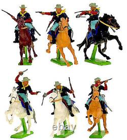 Britains Deetail 7th Cavalry 18 Figures 1st vers # 7489 mint in counter pack
