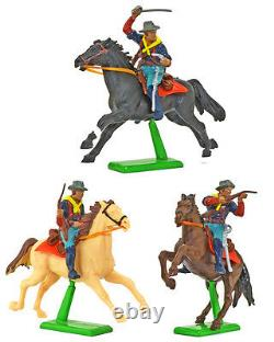 Britains Deetail 7th Cavalry 18 Mounted Figures hand painted mint on card