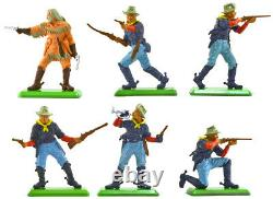 Britains Deetail 7th Cavalry 1st Vers mint counter pack 7490 POSES VARY 48 figs