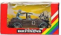 Britains Deetail # 9783 German Kubelwagen painted metal mib wrinkled window