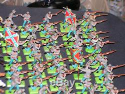 Britains Deetail Acw Confederate Army Mostly Made In England