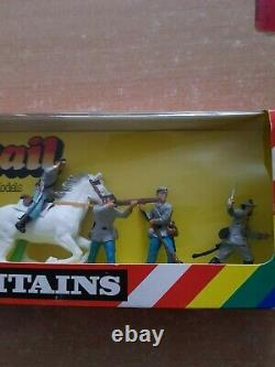 Britains Deetail Boxed Confederates 7428 (2641)