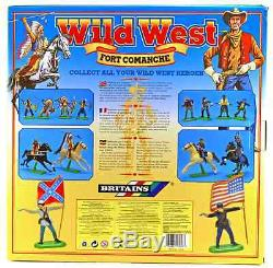 Britains Deetail Fort Commanche Bundle with 55 painted Wild West Figures