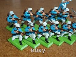 Britains Deetail, French Foreign Legion Infantry X 14.1/32 Scale Toy Soldiers