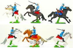 Britains Deetail Mounted Foreign Legion Painted Plastic Soldiers 7779 RARE