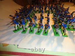 Britains Deetail Napoleonic Waterloo 61 figures, French Old Guard Square