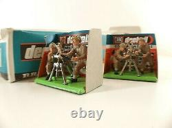 Britains Deetail Pack n° 7338 British Mortar boite revendeur de 10 RARE