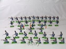 Britains Deetail Waterloo French Imperial Guard & Line Infantry x 41 Napoleonic
