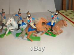 Britains Deetail Waterloo Napoleonics 7 Mounted French Cuirassiers
