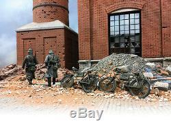 Britains Diorama Accessories Ha2033 Damaged Factory Smokestack Mib