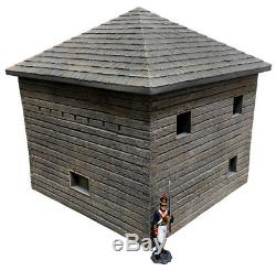 Britains Diorama Accessories Ha2099 Wooden Frontier Blockhouse Mib