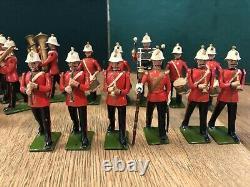 Britains EXCEPTIONALLY RARE Set 1622- Royal Marine Light Infantry Band. 1938
