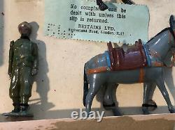 Britains EXTREMELY RARE Boxed Set 1908 Indian Mountain Battery. Pre War 1940