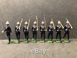 Britains EXTREMELY RARE Uncatalogued Royal Marines. Circa 1960