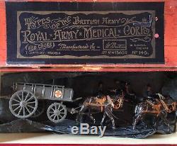 Britains Early Boxed Set 145 Royal Army Medical Corps Wagon. Pre War c1920