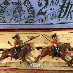 Britains Early Boxed Set 44 2nd Dragoon Guards. Rare. C1905