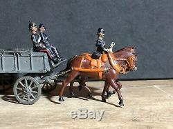 Britains Early Set 146- Royal Army Service Corps Wagon. 1st Version c1906